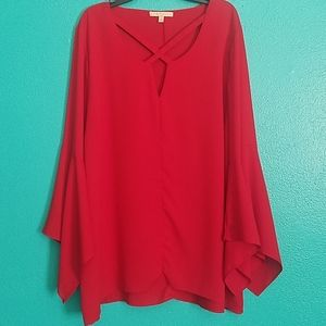 Red Gibson Latimer top